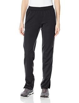 Adidas 2784 Womens Black Zip Legs Solid Pull On Athletic Pan