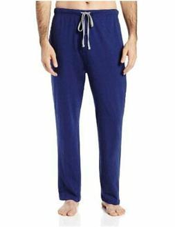 Hanes Men's Solid Knit Sleep Pant, Blue, XX-Large