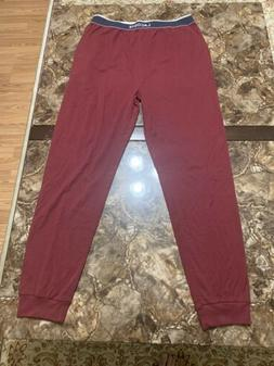 Lacoste Sport Mens Sweatpants Jogger MEDIUM BURGUNDY SLEEPWE