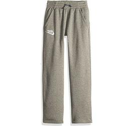 NIKE Sportswear Boys' Club Fleece Open Hem Pants, Carbon Hea