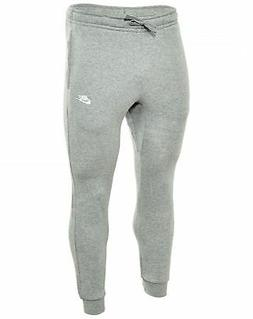NIKE Sportswear Men's Club Joggers, Dark Grey Heather/White,