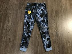 Nike Sportswear NYC Blue Camo Fleece Sweatpants Tapered Jogg