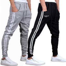 Spring Summer Mens Pants Fashion Skinny <font><b>Sweatpants<