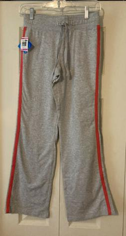 Style & Co Sport Womens Gray Athletic Pants Sweatpants Size