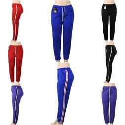 Summer Sweatpants for Women two stripes on the side Multiple
