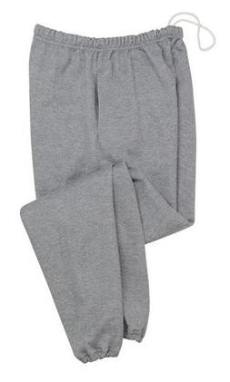 Jerzees SUPER SWEATS - Sweatpant with Pockets, XL, Black