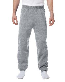 Jerzees 9.5 oz. Super Sweats 50/50 Sweatpants, Oxford, 2XL