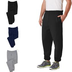 JERZEES SUPER SWEATS NuBlend Sweatpant Pockets Elastic Cuffs