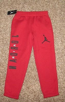 Nike Sweat Pants Boy's Size 7 Gym Red
