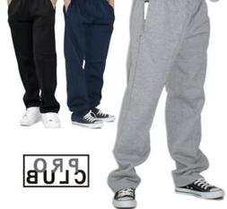 PRO CLUB SWEAT PANTS JOGGERS PROCLUB COMFORT MEN'S FLEECE PA