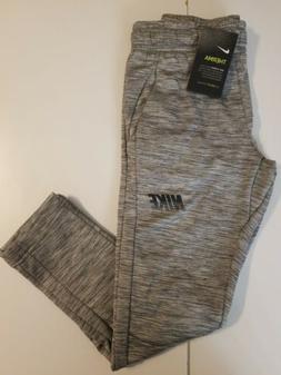 Nike Sweatpants Boys  Gunsmoke Gray Authentic Dri Fit Therma
