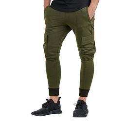 iLXHD Men's Sweatpants Casual Autumn Winter Cotton Hip Hop S