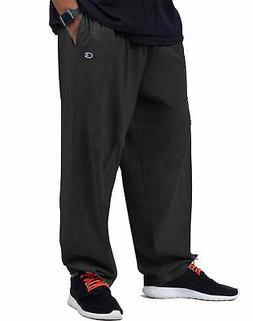 Champion Sweatpants Men Jersey Pants Big & Tall Elastic Bott