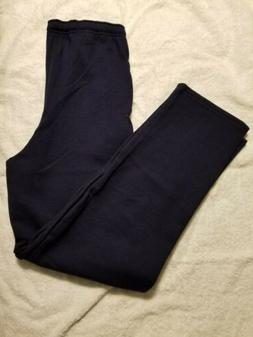 Fruit of the Loom Sweatpants Navy Small with pockets