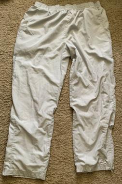 Champion Sweatpants Old School 100 Polyester Gray  Size Larg