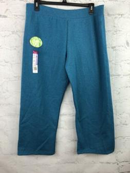 Fruit of the loom sweatpants womens 2X petite bright blue so