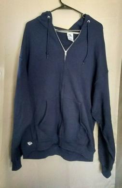 Russell Athletic Sweatshirt Hoodie Dri Power Full Zip Fleece
