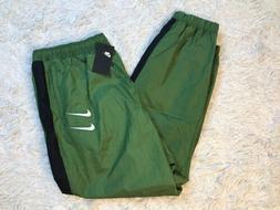 Nike Swoosh Cuffed Woven Sweatpants Size 3XL TALL Khaki Jogg