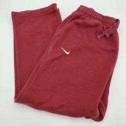 Nike Team Club Fleece Sweatpants XL Red Sports Pants Workout