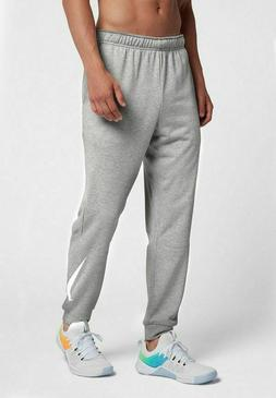 Nike Training Tapered Joggers Sweatpants Grey White 932245-0