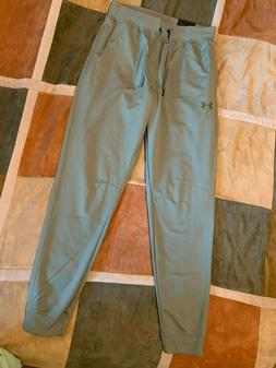 Under Armour tricot tapered leg pants M mens jogger sweatpan
