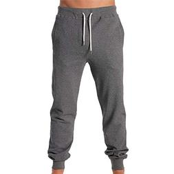 Diesel Men's UMLB-Peter Varsity Sweatpants, Dark Grey Melang