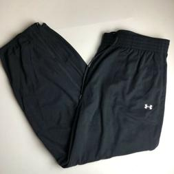Under Armour Men's Loose Fit Sweatpants 4X Black NWT COLD GE