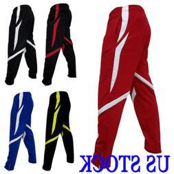 US Men Sport Pants Long Trousers Tracksuit Fitnes Workout Jo