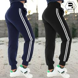 US Women Casual Jogger Long Sport Pants Tracksuit Bottom Tro