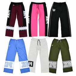 Victoria's Secret Pink Sweatpants Boyfriend Fit Graphic Loun