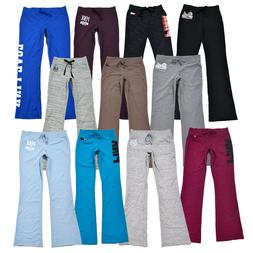 Victoria's Secret Pink Sweatpants University Flare Drawstrin