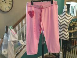 Victoria's Secret PINK Light Pink Sweatpants Large  - NEW