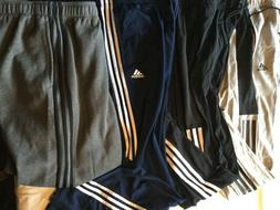 Adidas Warm Up Sweat Pant Men New Tags Gray Black Limited Si
