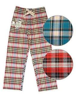 Farm Girl Western Sleepwear Womens Plaid Flannel Lounge F231