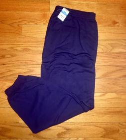 Womans 3XL Academy Purple Sweat Pants Jogger Style 2 Front P