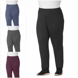 Just My Size Womans Plus Size 5X Petite 30x32 Fleece Sweatpa
