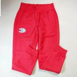 Women 100% authentic champion long sweat pants logo size Med