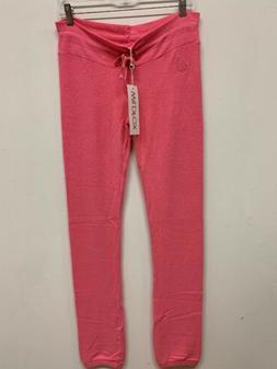 Wildfox women barbie neon pink Malibu knox Sweatpants LOOSE