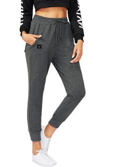SweatyRocks Women's Casual Sweatpants Yoga Workout Jogger Pa