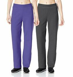 Hanes Women's ComfortBlend Open Leg Fleece Sweatpants, Regul