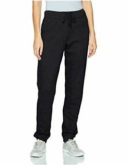Fruit of the Loom Women's Essentials Around Town Jogger, Bla