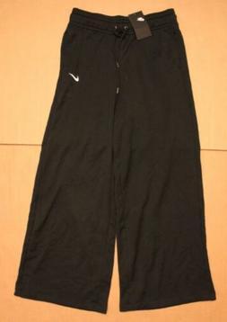 Nike Women's Loose Fit Solid Logo Print Sweatpants SC4 Black