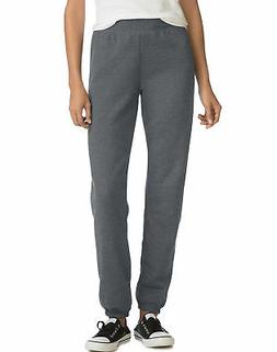 Hanes Women's Mid Rise Cinch Leg Sweatpants Bottom ComfortSo