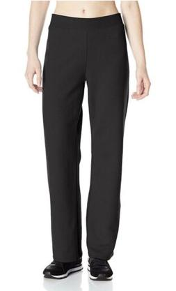 Hanes Women's Middle Rise Sweatpants - Medium - Ebony