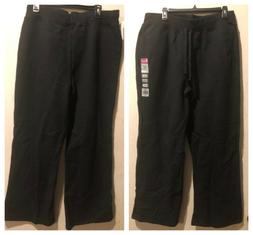 Women's Plus Size Black Sweat Pants New!