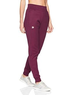 women s reverse weave jogger dark berry