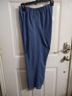 Women's Alfred Dunner Sweat Pants Athletic Pants Blue Size 1