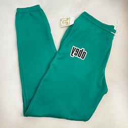 Obey Women's Sweatpants Obey 1990 Avocado Green Size S NWT S