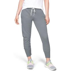 Under Armour Women's Synthetic Fleece Jogger Pant, Steel /To