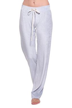 Women's Velour Lounge Pants - Stylish Sweatpants for Her by